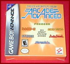 6 Konami Arcade Games In 1 Rush N Attack Scramble for Game Boy Advance NEW