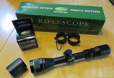 Mueller 2-7x32 APV  Rifle Shotgun Muzzleloader Scope Custom Crosshair Riflescope