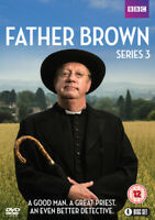 Father Brown: Series 3 DVD (2015) Mark Williams cert 12 4 discs ***NEW***