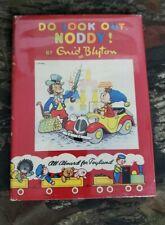 Vtg 1st Edition Noddy Book #15 Do Look Out, Noddy! Enid Blyton HCDJ Beek B30