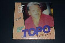 El Topo De Puerto Rico - Cantar Bien o No Cantar - 1986 - FAST SHIPPING!