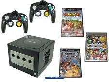 # Nintendo GameCube Console con 2 Pad, elettricità, televisione via cavo & 3 Mario giochi #