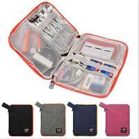 BUBM Travel Digital Storage Bag Electronics Accessories Data Cable Organizer SML