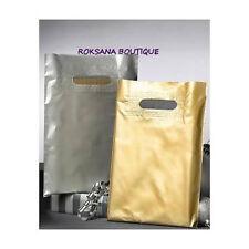 20 sacs plastique pochette sachets cadeau bijou emball OR 23,7x 30cm 50 microns