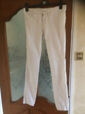 Women's Skinny Denim Jeans By H&M Size 28 Inch In White