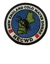 New listing Vintage New England Cold Water Divers Necwd Scuba Dive Patch
