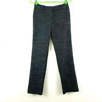 Ann Taylor Modern Fit Black Pants Size 0 Straight Leg Trouser