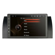 """Android 9.0 9""""Car Stereo GPS Sat Navi WiFi Canbus for BMW 5er E39 X5 E53 M5 DAB+"""