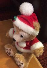 """Disney Parks Christmas Santa Bear Duffy 10"""""""