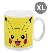 Pokémon XL Tasse Pikachu Kaffeetasse Kaffeebecher Premium Design 560 ml NEU OVP
