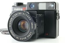 【N MINT】 Plaubel Makina 67 Folding 120 Film Camera w/80mm  Nikkor Lens JAPAN 274