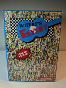 Where's ELVIS Jigsaw Puzzle - 1993 Buffalo Games 513 Pcs  NEW
