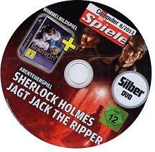 Sherlock Holmes jagt Jack the Ripper + Sinister City ( Abenteuerspiel ) PC NEU