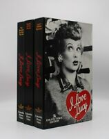 I Love Lucy The Collector's Edition Lot of 3 Tapes (VHS, 2002)
