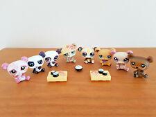 LITTLEST PETSHOP LPS lot de 8 Pandas + accessoires #904 #1495 #1662 #395 lot24