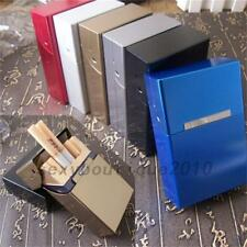 Aluminum Metal Cigar Cigarette Box Holder Tobacco Storage Case Gift US