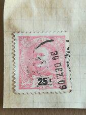 N°283 Portugal - 1909 - D Carlos - 25 Reis - BE