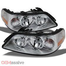 Fit 2005-2011 Lincoln Town Car Headlights Lamps Replacement Halogen Fit Only