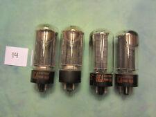 (4) 5U4G RCA Radio TUBES TV7 tested - Guaranteed  L14