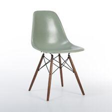 Seafoam Herman Miller Original Vintage Eames DSW Dining Side Shell Chair