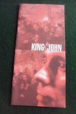 SWAN THEATRE-Stratford upon Avon, KING JOHN, William Shakespeare, RSC. 2001