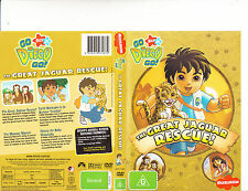 Go Diego Go-The Great Jaguar Rescue-[4 Episodes]-Animated GDG-DVD