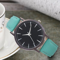 Fashion Women Ladies Simple Leisure Watch Analog Leather Quartz Wrist Watches