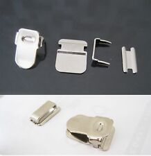 3 Set Trouser Hook and Eye metal Bar, Skirt Tunic Fasteners Expander 4 Part Sets