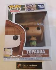 TV IN STOCK Funko POP Boy Meets World: Topanga Figure #750