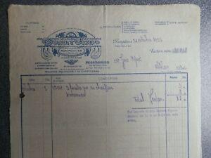 PAMPLONA CARTA COMERCIAL AÑO 1923 BICICLETAS AUTOMOVILES LA HISPANO SUIZA -DORIA