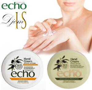 Echo Greek Hand Cream Olive Oil+Aloe Vera+Vitamin E/Farcom/Non-greasy. 200 ml