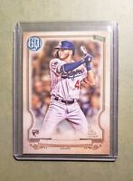 2020 Topps Gypsy Queen Baseball Missing Nameplate SP RC ~ GAVIN LUX NO.174