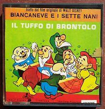 WALT DISNEY BIANCANEVE E I SETTE NANI FILMINO SUPER 8 mm CM 12,5  COLORI SONORO