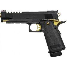 Tokyo Marui Hi-Capa 5.1 Gold Match Custom Gas Blowback Airsoft Pistol BLACK/GO