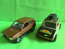 POLISTIL +  MEBETOYS FIAT PANDA  + 128 - 1:25 -    RARE SELTEN IN GOOD CONDITION