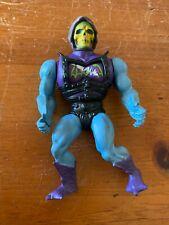 Vintage 1983 Mattel Battle Armor SKELETOR /// He Man Action Figure