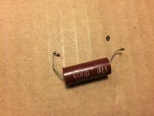 Vintage Good-All .01 uf 400v Capacitor Red Molded 600UE Guitar Tone Cap