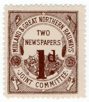 (I.B) Midland & Great Northern Railways Joint Committee  : Newspapers 1d