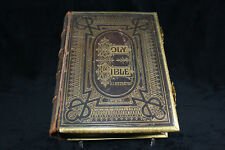 Antique Holy Bible (England, 1880) Brown's family bible