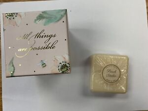 Punch Studio Rose Soap Music Box with Scented Soap NIB