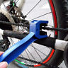 Bike Wheel Scrubber Bicycle Chain Cleaner Cleaning Tool Motorcycle Gear Brush