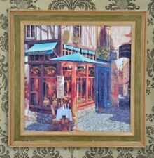Wall Painting Picture Canvas Wooden Frame Art Modern Design - Restaurant