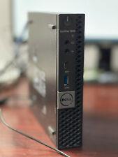 Dell Optiplex 7050 Micro Core i7-7700T 2.9GHz 8GB 128GB SSD With office 2019 Wi