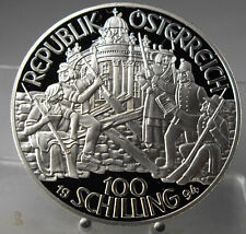 Österreich, 100 Schilling 1994, PP, Silber .900, 20 g