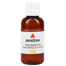 Macadamia Nut Cold Pressed Carrier Oil (Meadows Aroma) 100ml