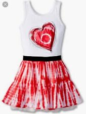 """DESIGUAL Girl's/Youth Vest_Vandala"""" Heart Tie Dye Dress SZ: 13/14~NEW~"""