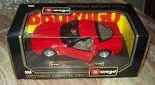 Burago- Chevrolet Corvette  1997 -1/24