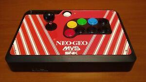 Modded MAYFLASH F500 Arcade Stick w/Sanwa buttons + joystick
