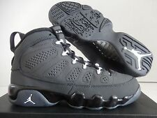 NIKE AIR JORDAN 9 RETRO BG ANTHRACITE-WHT-BLACK SZ 5Y-WOMENS SZ 6.5 [302359-013]