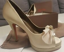 Wedding shoes- Betty Blue Vero Cuoio. made in Italy. Size 38.